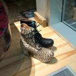 spotty and trendy cougar platform boots