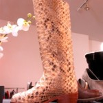 Python boots for cougars