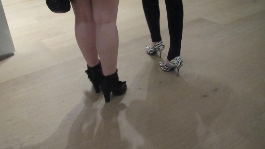 Zebra High Heels, ooh la la!